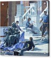 Mural In Philadelphia Acrylic Print