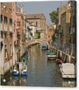 Murano Canal 4329 Acrylic Print