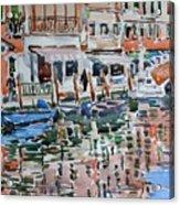 Murano Canal Acrylic Print