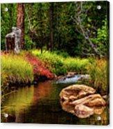 Murdock Basin Autumn Acrylic Print