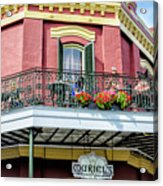 Muriels On The Square _ Nola Acrylic Print