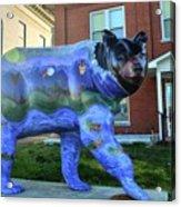 Murphy Bear Acrylic Print