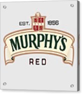 Murphys Irish Red Acrylic Print