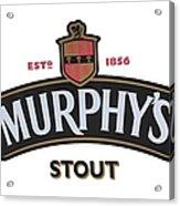 Murphys Irish Stout Acrylic Print