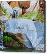 Murray Canyon Falls Acrylic Print
