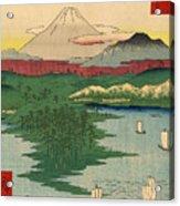 Musashi Noge Yokohama - Noge Yokohama In Musashi Province Acrylic Print