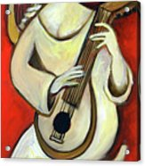 Muse with a Lute Acrylic Print