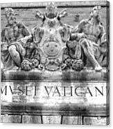Musei Vaticani Acrylic Print by Stefano Senise