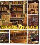 Museum Of Appalachia Block Collage Acrylic Print
