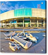 Museum Of Contemporary Art In Zagreb Acrylic Print