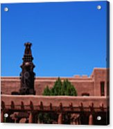 Museum Of Indian Arts And Culture Santa Fe Acrylic Print