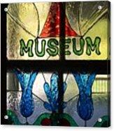 Museum Acrylic Print
