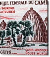 Musgum Houses Acrylic Print