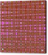 Mushroom # 7979 Abstract Acrylic Print