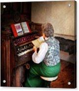 Music - Organist - The Lord Is My Shepherd  Acrylic Print