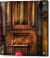 Music - Organist - What A Big Organ You Have  Acrylic Print