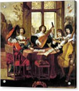 Music, 17th Century Acrylic Print