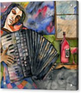 Music And Wine Acrylic Print