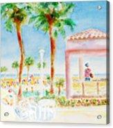 Music At Orange Beach Acrylic Print
