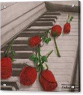 Music Creates Beautiful Things Acrylic Print