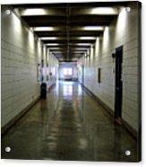 Music Hallway Acrylic Print