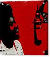 Music Icons - Aretha Franklin Ill Acrylic Print