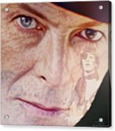 Music Icons - David Bowie Vll Acrylic Print