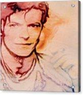 Music Icons - David Bowie Vlll Acrylic Print