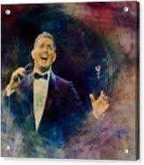 Music Icons - Michael Buble IIi Acrylic Print