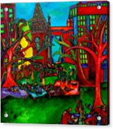 Music In The Park Acrylic Print