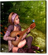 Music In The Woods Acrylic Print