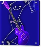 Music Lady Acrylic Print