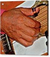 Music Maker Acrylic Print