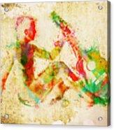 Music Man Acrylic Print