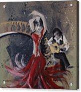 Musica Espaniol Acrylic Print