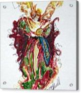 Musical Angel Acrylic Print