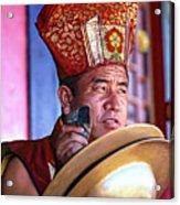 Musical Monk Acrylic Print