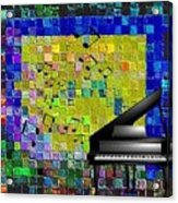 Musical Quilt Acrylic Print
