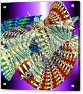 Musical Snails Acrylic Print
