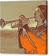 Musician Youth Acrylic Print