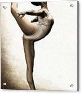 Musing Dancer Acrylic Print