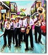 Musique De' Rue Acrylic Print