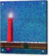 Muskegon Lighthouse Acrylic Print