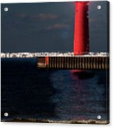 Muskegon Mi Lighthouse Acrylic Print