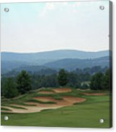 Musket Ridge Golf - In The Foothills Of The Catoctin Mountains - Par 5 - 10th Acrylic Print