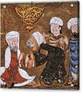 Muslim Court, 1334 A.d Acrylic Print