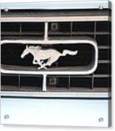 Mustang Logo Acrylic Print