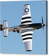 Mustang Photo Pass - 2017 Christopher Buff, Www.aviationbuff.com Acrylic Print