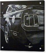 Mustang Rear Acrylic Print