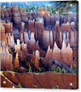 Muted Bryce Acrylic Print